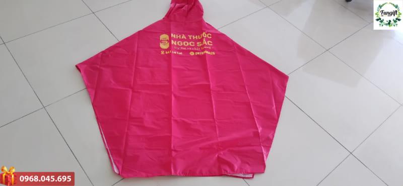 Áo mưa in logo quảng cáo theo yêu cầu