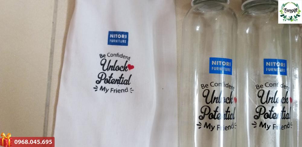 Bình đựng nước quà tặng