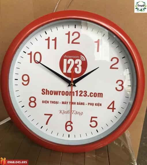 In logo lên đồng hồ quà tặng