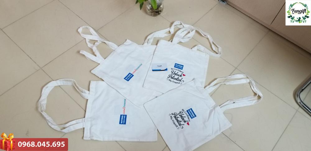 Túi vải in logo Nitori