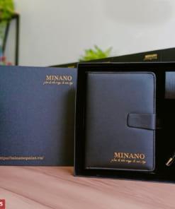Bộ giftset in logo Minano
