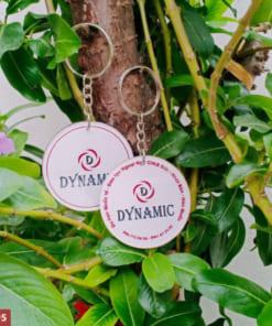 Móc khoá in logo Dynamic