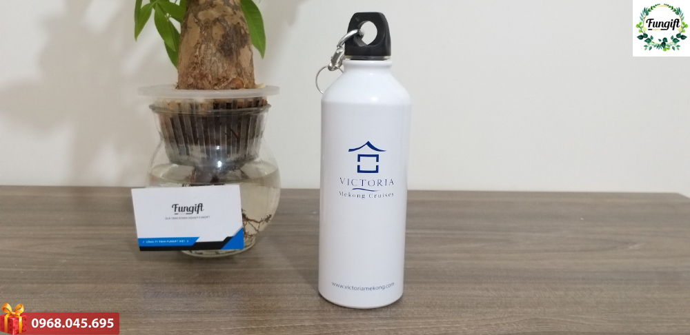 Bình nước in logo công ty