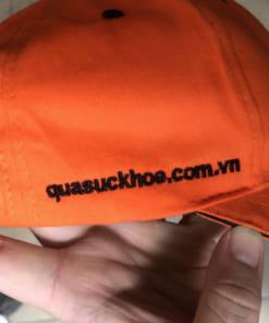 In logo lên mũ lưỡi trai Hà Nội