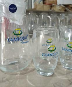 Bộ bình nước in logo Tamiqua Cómetics