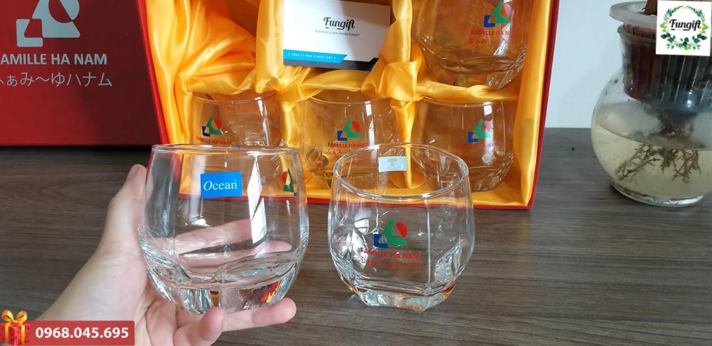 Bộ quà tặng cốc thủy tinh