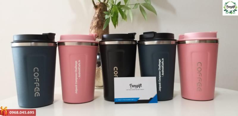 Cốc cafe in logo theo yêu cầu