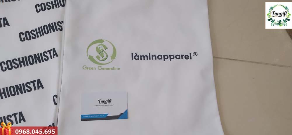 Túi vải in logo giá rẻ
