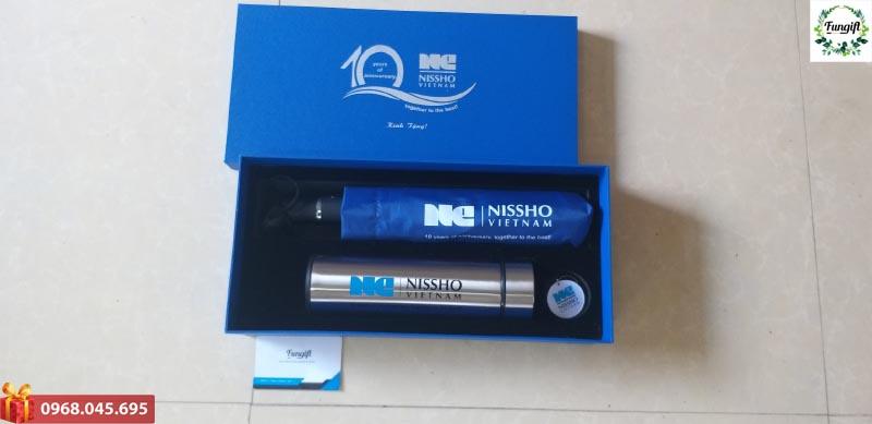 Bộ quà tặng in logo Nissho