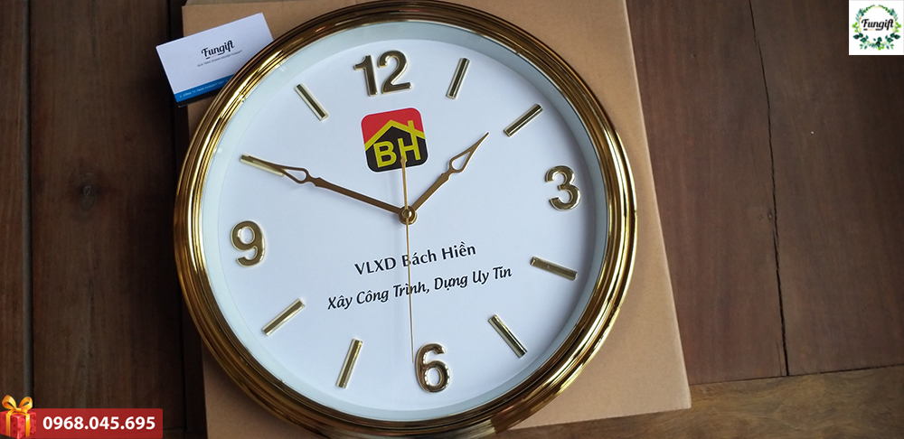 In logo lên đồng hồ theo yêu cầu