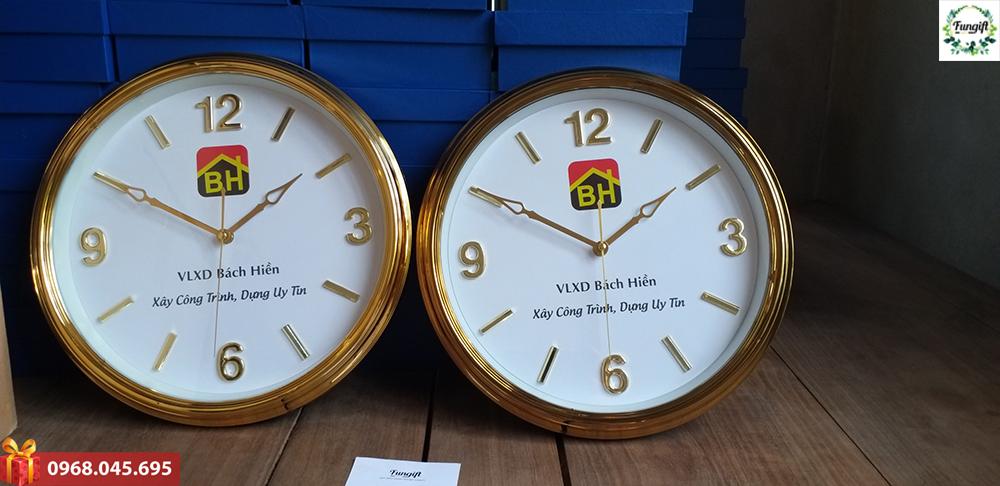 Đồng hồ quà tặng in logo Bách Hiển