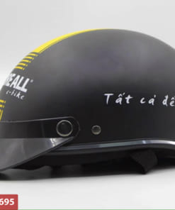 Mũ bảo hiểm in logo cao cáp