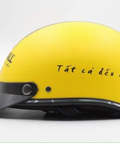 In logo mũ bảo hiểm quà tặng