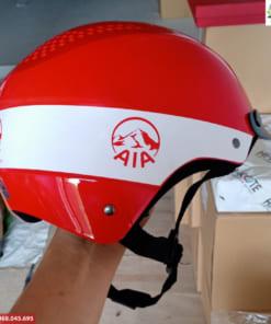 Xưởng sản xuất mũ bảo hiểm in logo