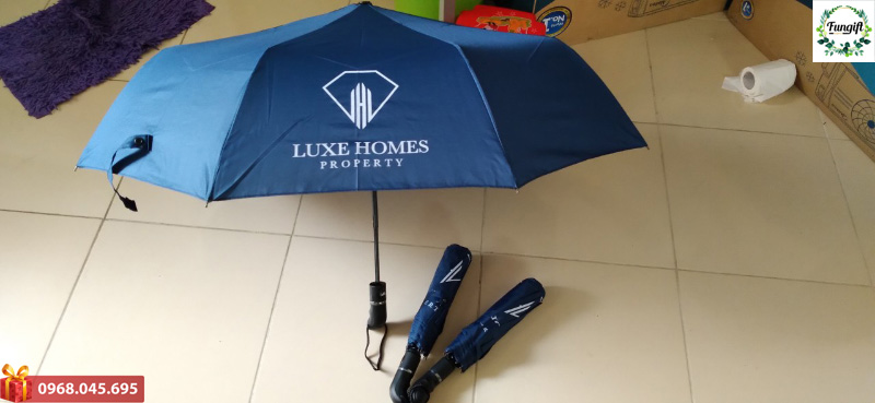 Ô gấp 3 in logo Luxe Homes